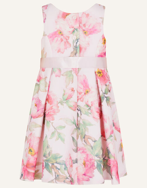 Baby Betty Floral Scuba Dress, Pink (PINK), large