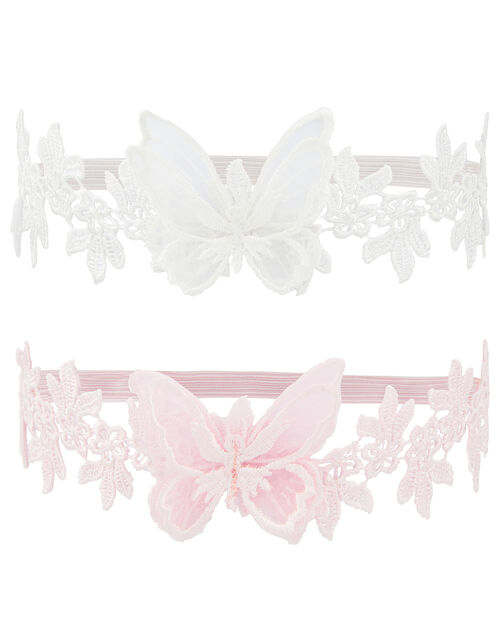 Baby Butterfly Lace Bando Set, , large