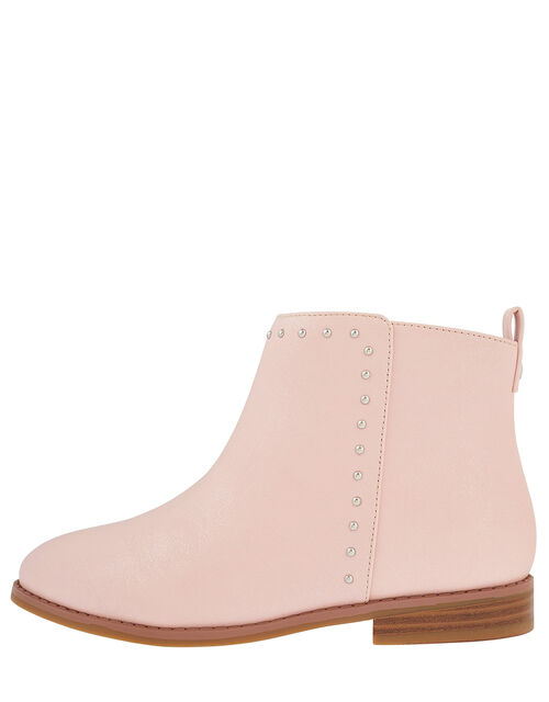 Latisha Stud Ankle Boots, Pink (PINK), large
