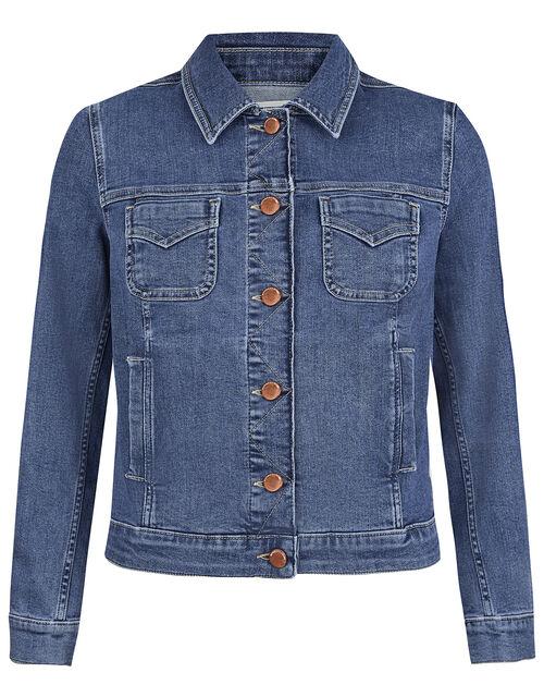 Denim Jacket, Blue (DENIM BLUE), large