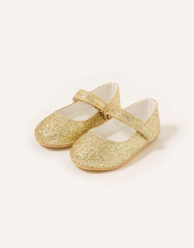 Glitter Walker Shoes Gold, Gold (GOLD), large