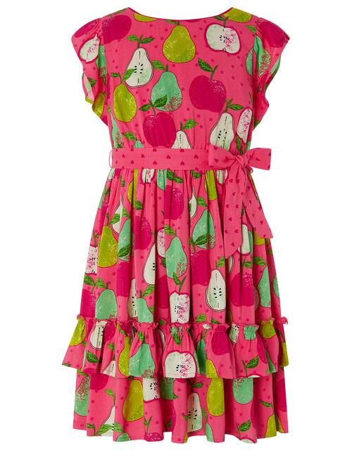 Papple Printed Dress, Pink (PINK), large