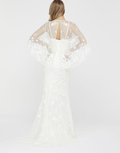 Christabel Bridal Embellished Maxi Dress, Ivory (IVORY), large