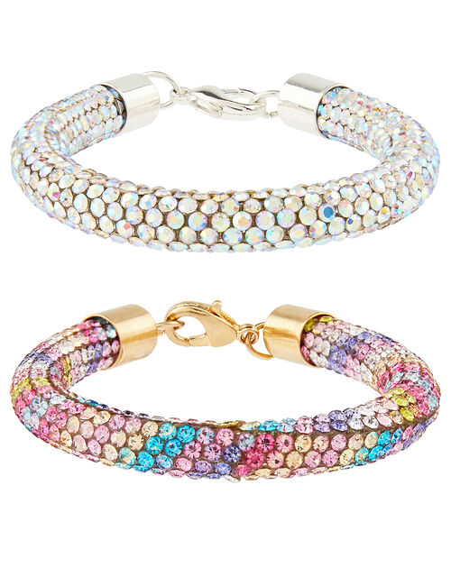 Dreamy Dazzle Crystal Bracelet Set, , large