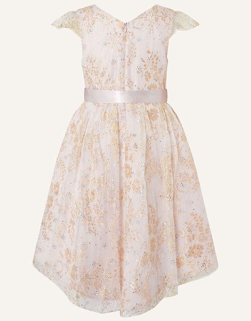 Sparkle Lace Dress , Pink (PINK), large