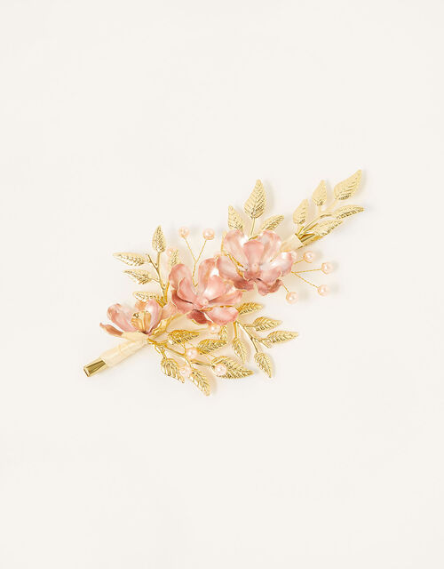 Frosted Meadow Flower Hair Clip, , large
