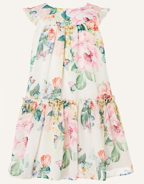 Baby Rose Print Chiffon Dress  Multi, Multi (MULTI), large