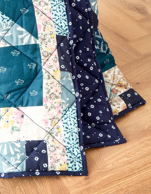 Patchwork Print Quilt, , large