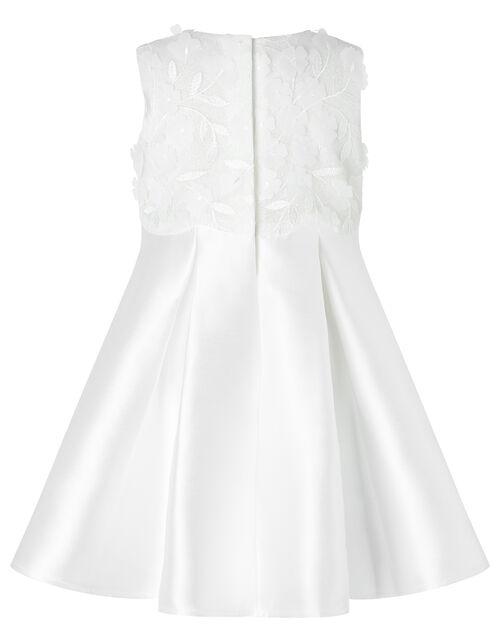 Baby Anika Floral Bodice Dress, Ivory (IVORY), large