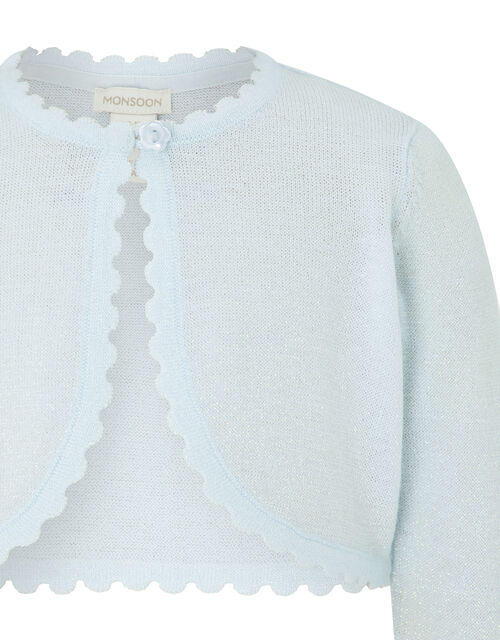 Baby Niamh Cardigan, Blue (PALE BLUE), large
