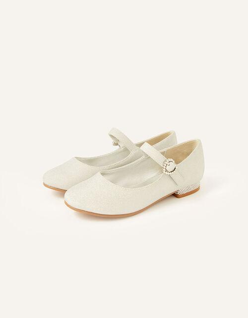 Glitter Mini Heels , Silver (SILVER), large