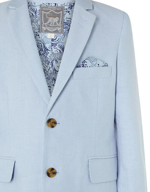 Ollie Oxford Blazer, Blue (PALE BLUE), large
