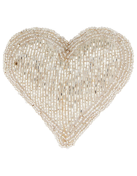 Embellished Heart Door Hanging Decoration, , large