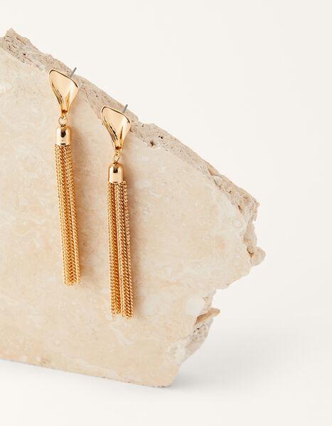 Long Tassel Earrings, , large