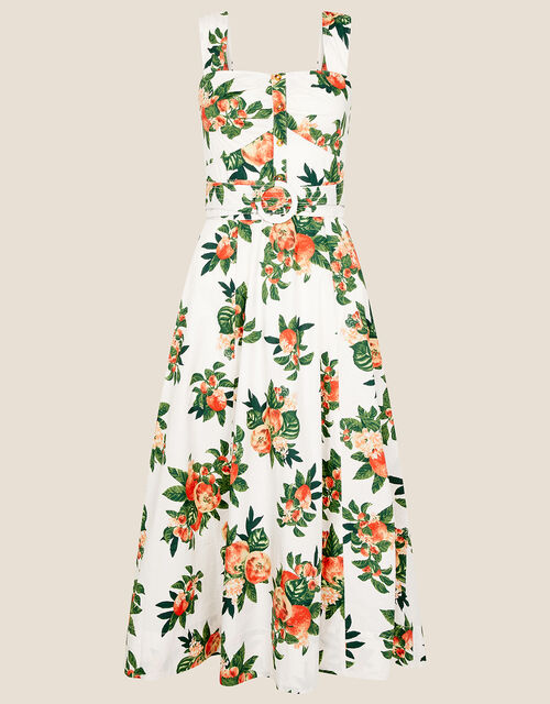 Takala Apple Poplin Dress , Ivory (IVORY), large