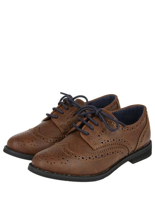 Brogue Shoes, Brown (BROWN), large