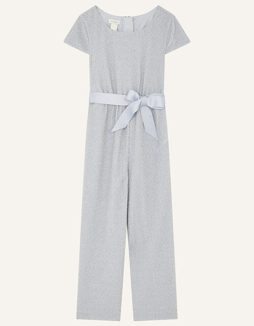 Shimmer Jersey Jumpsuit , Blue (PALE BLUE), large