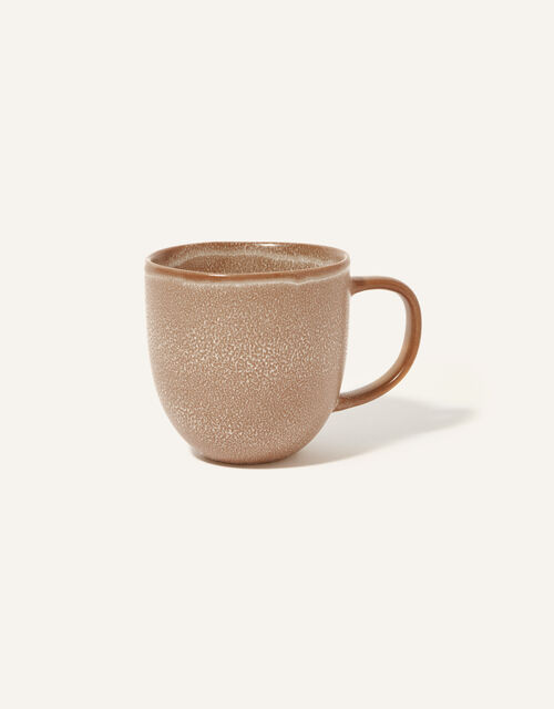 Ceramic Mug, Brown (BROWN), large