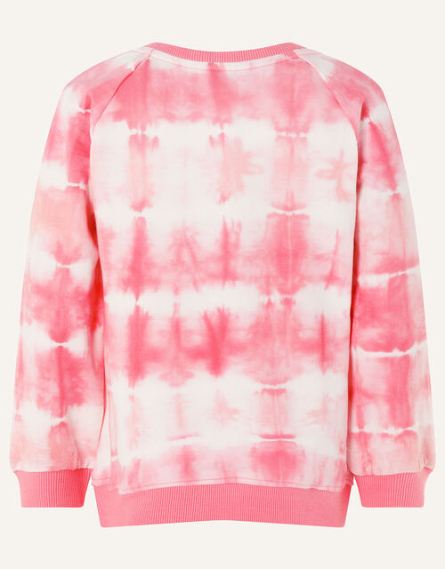 Tie Dye Watermelon Sweatshirt , Pink (PINK), large