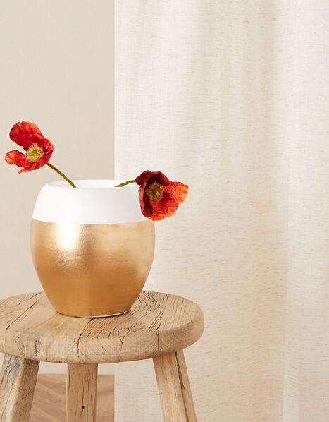 Terracotta Border Vase, , large