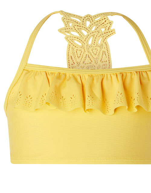 Pia Pineapple Bikini Set with Recycled Polyester, Yellow (YELLOW), large