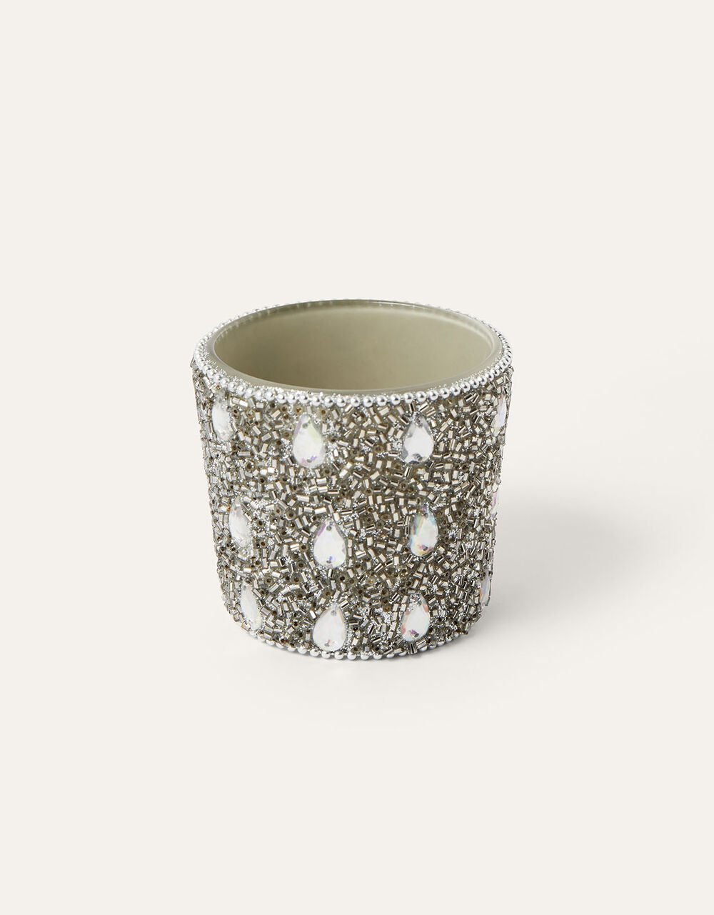 Sparkle Shellac Candle Holder, , large
