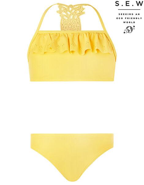 Pia Pineapple Bikini Set with Recycled Polyester Yellow, Yellow (YELLOW), large