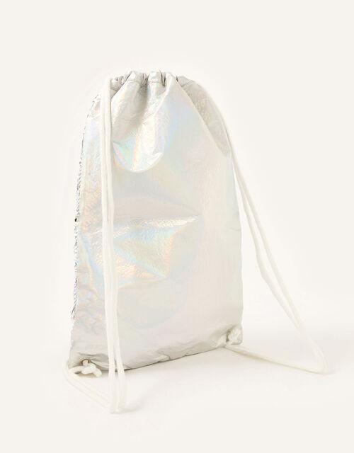 Misty Unicorn Sequin Drawstring Bag , , large