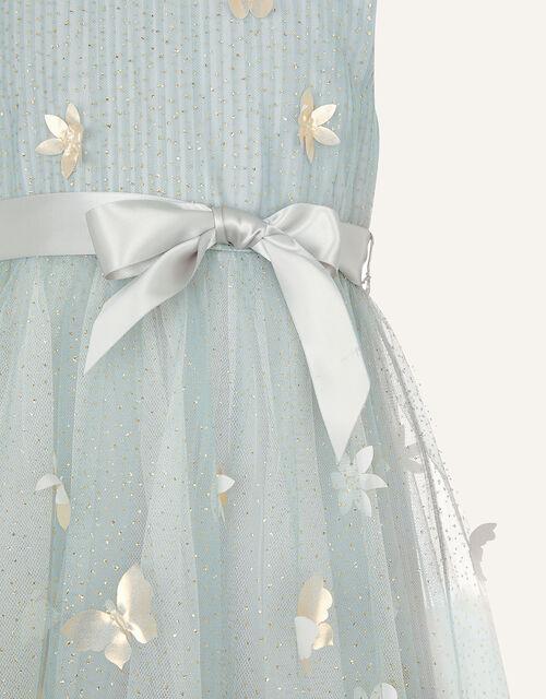 3D Petal Dress, Grey (GREY), large