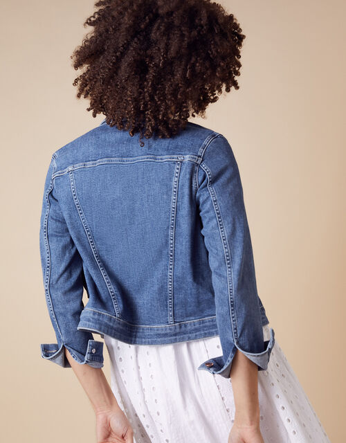 Denim Jacket, Blue (DENIM BLUE), large