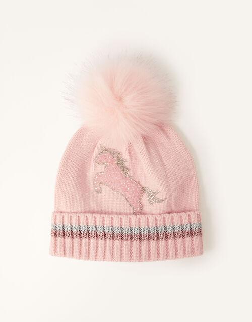 Suzie Dazzle Unicorn Hat , Pink (PINK), large