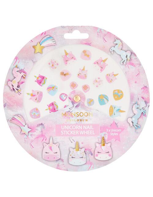 Unicorn Nail Sticker Wheel, , large
