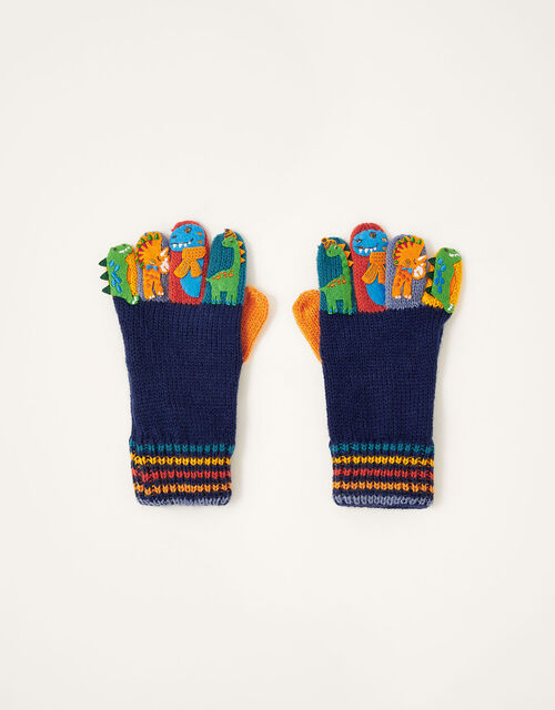 Corey Dino Novelty Gloves, Multi (MULTI), large