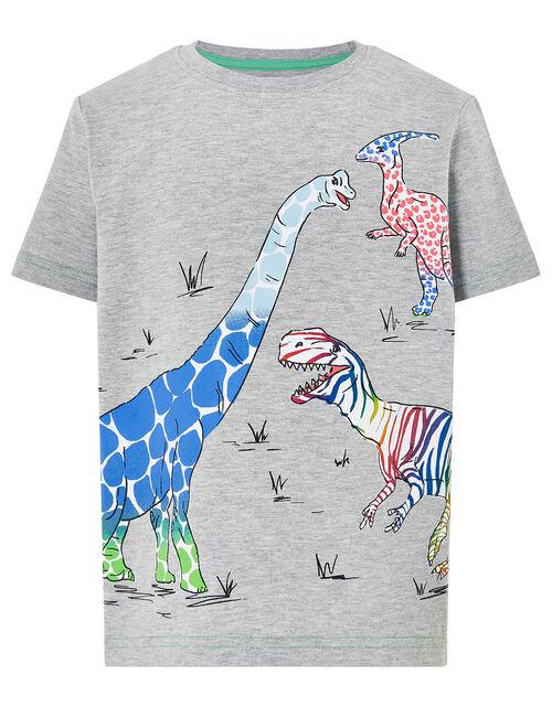 Casper Dinosaur T-Shirt, Grey (GREY), large