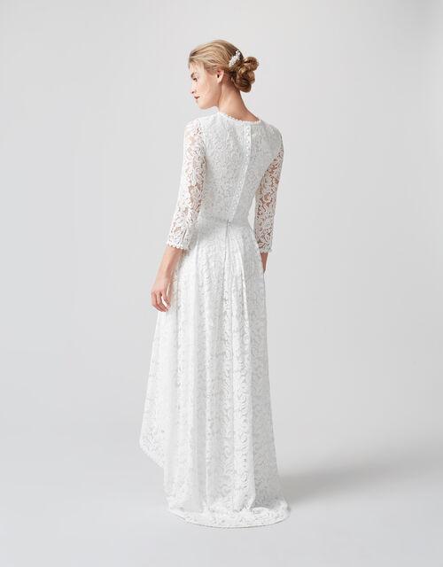 Dominika Lace Bridal Top, Ivory (IVORY), large