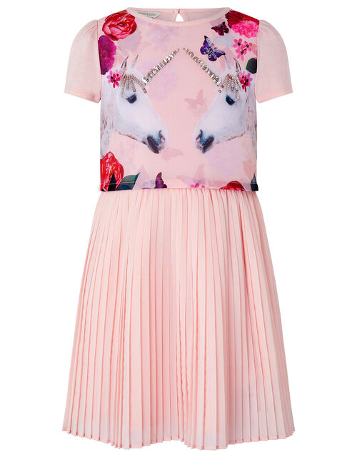 Mystique Unicorn 2-in-1 Dress, Pink (PINK), large