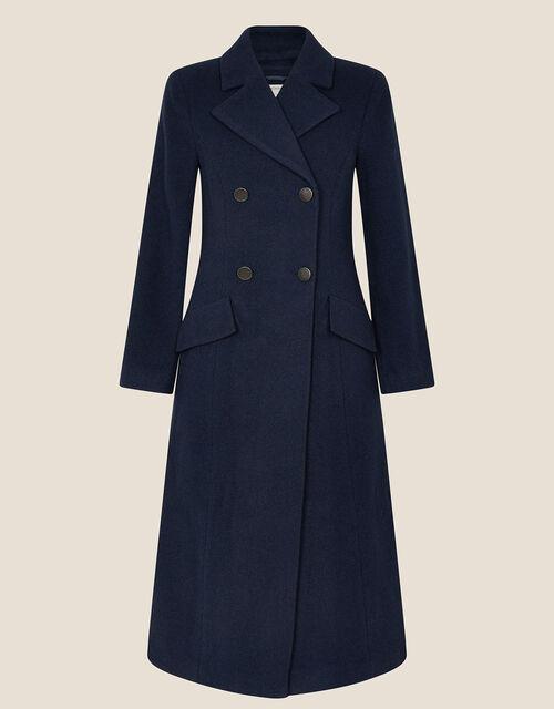 Jamie Military Coat, Blue (NAVY), large