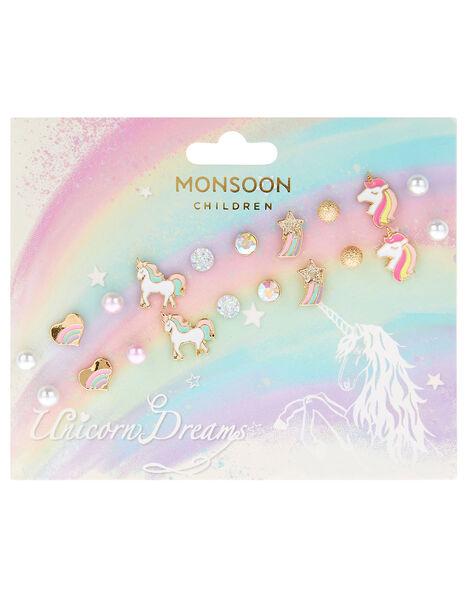 Unicorn Dreams Stud Earring Multipack, , large