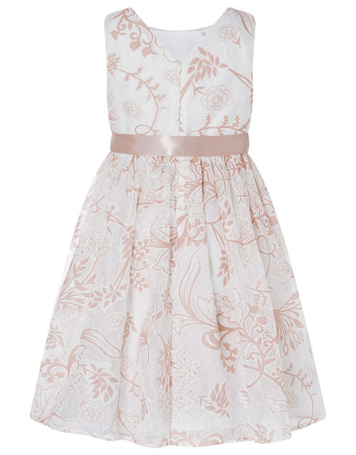 Annie Printed Lace Dress, , large