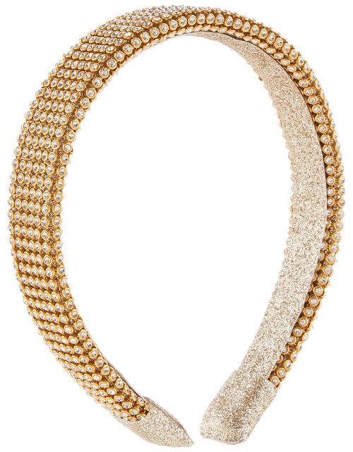 Super-Sparkle Diamante Headband, , large