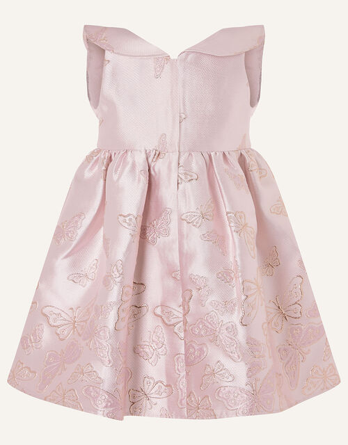 Baby Cascading Butterfly Dress , Pink (PINK), large