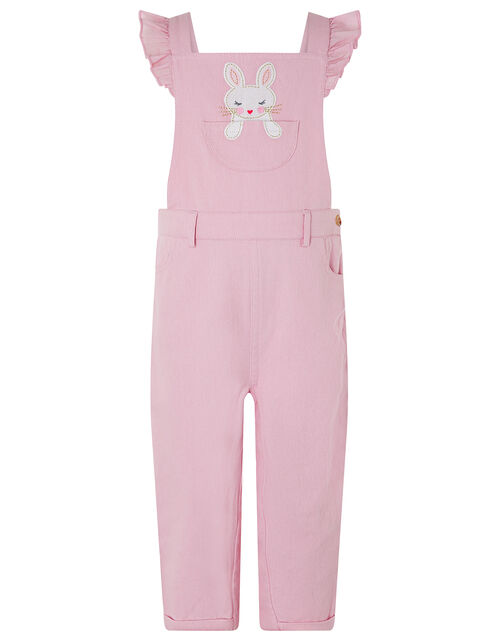 Baby Albi Bunny Dungaree Set, Pink (PINK), large