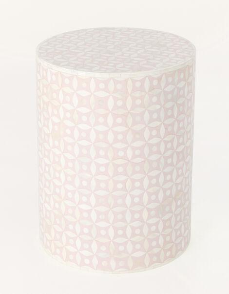 Patterned Cylinder Bedside Table, , large