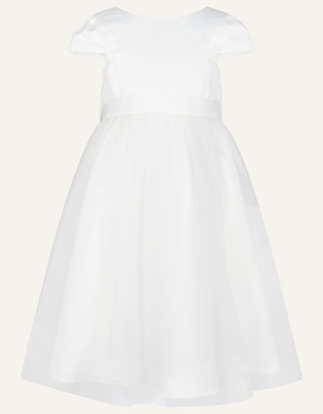 Tulle Bridesmaid Dress Ivory, Ivory (IVORY), large