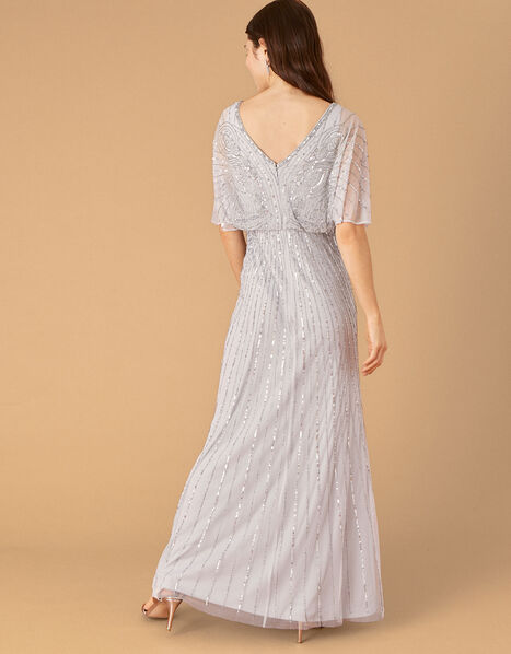 ARTISAN Taylor Embellished Maxi Dress Blue, Blue (BLUE), large