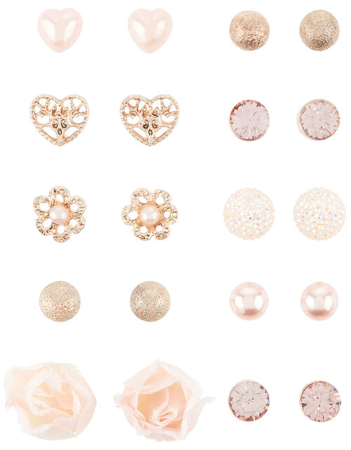 Corsage Earring Multipack , , large