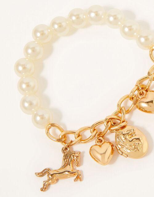 My Lucky Horseshoe Trinket Bracelet, , large