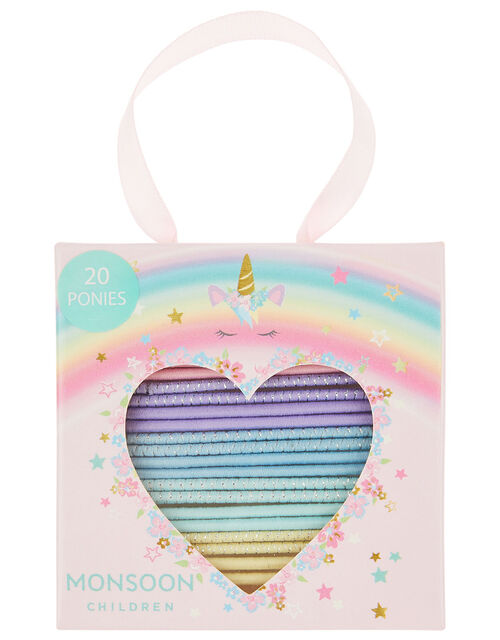 Unicorn Rainbow Hair Band Multipack, , large