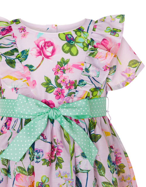 Baby Pixie Floral Dress, Pink (PINK), large