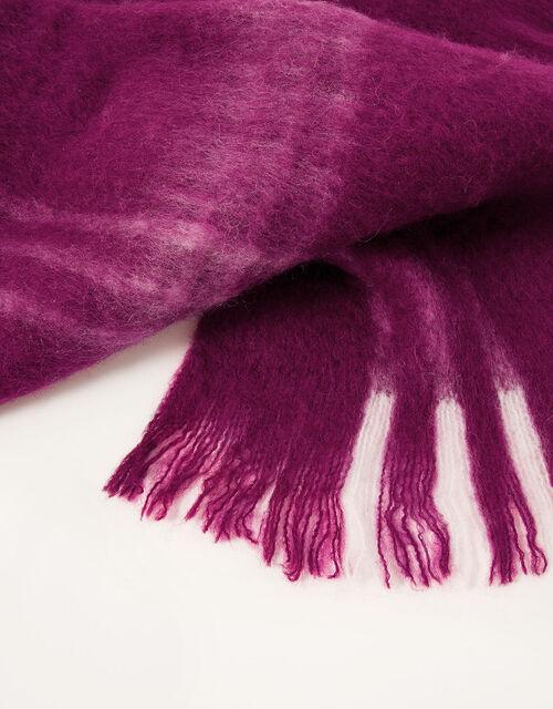 Chloe Check Blanket Scarf, , large